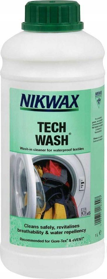 ЖИДКОСТЬ ДЛЯ СТИРКИ белья Tech Wash Nikwax 1Л