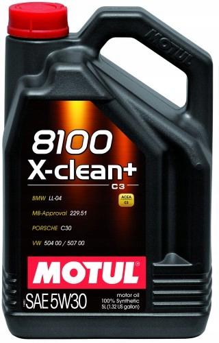 Motul 8100 X-Clean+ 5W30 5Л