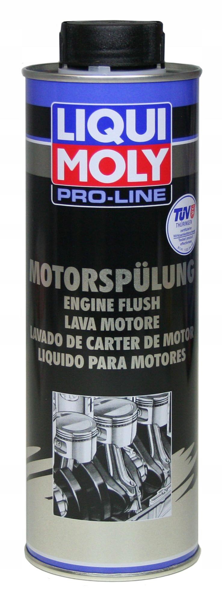 Промывка двигателя Liqui Moly Pro Line 2662 0,5 л с продувкой