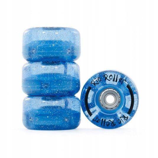 Rio Roller Light Up Wheels - modré s leskom