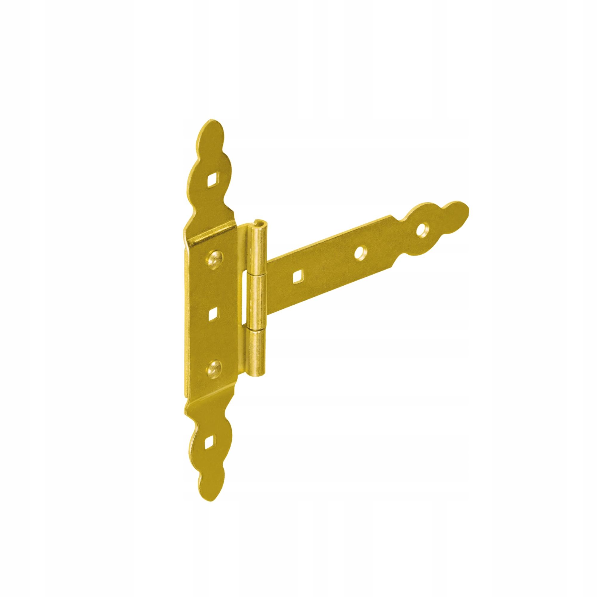 Zawias bramkowy ozdobny z nakładką  ZBNO 150x60