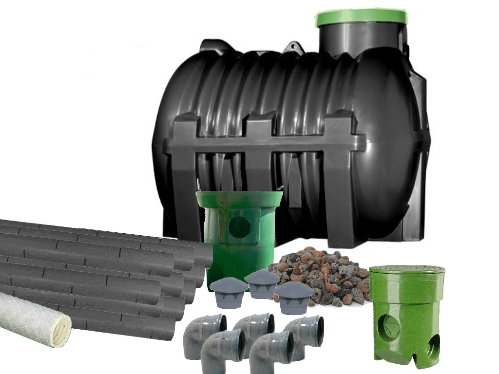 очистные сооружения бытовых сточных вод 3000л 3м3