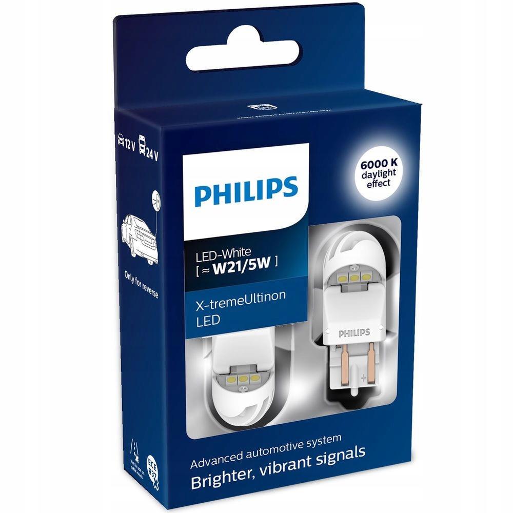 PHILIPS W21/5W X-TremeUltinon LED WHITE 6000K 9584816969 - Allegro.pl