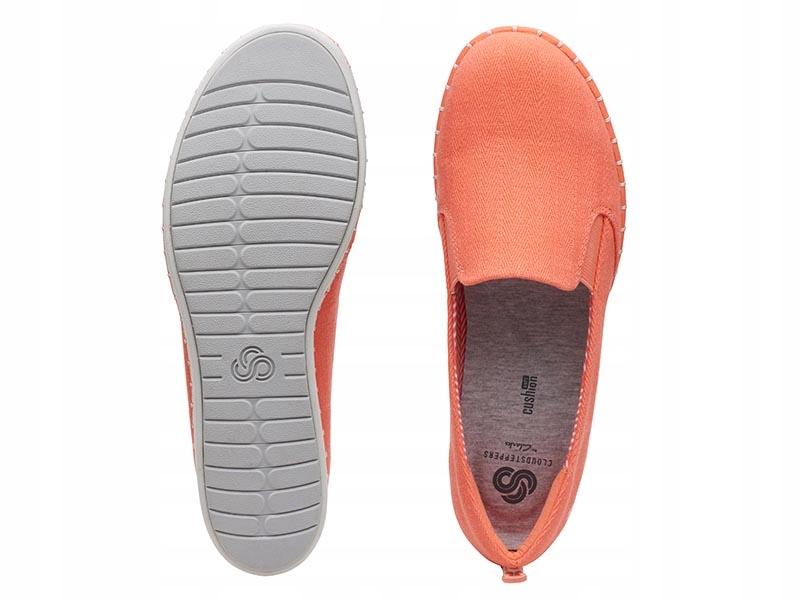 Clarks Step Glow Slip koralowe (261403074) 39 5