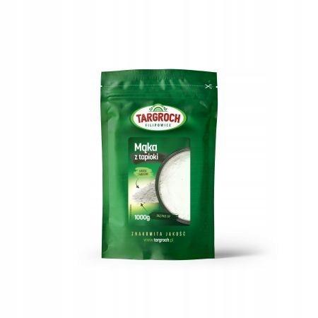 Mąka z tapioki 1 kg Maniok TARGROCH 7959193248 - Allegro.pl