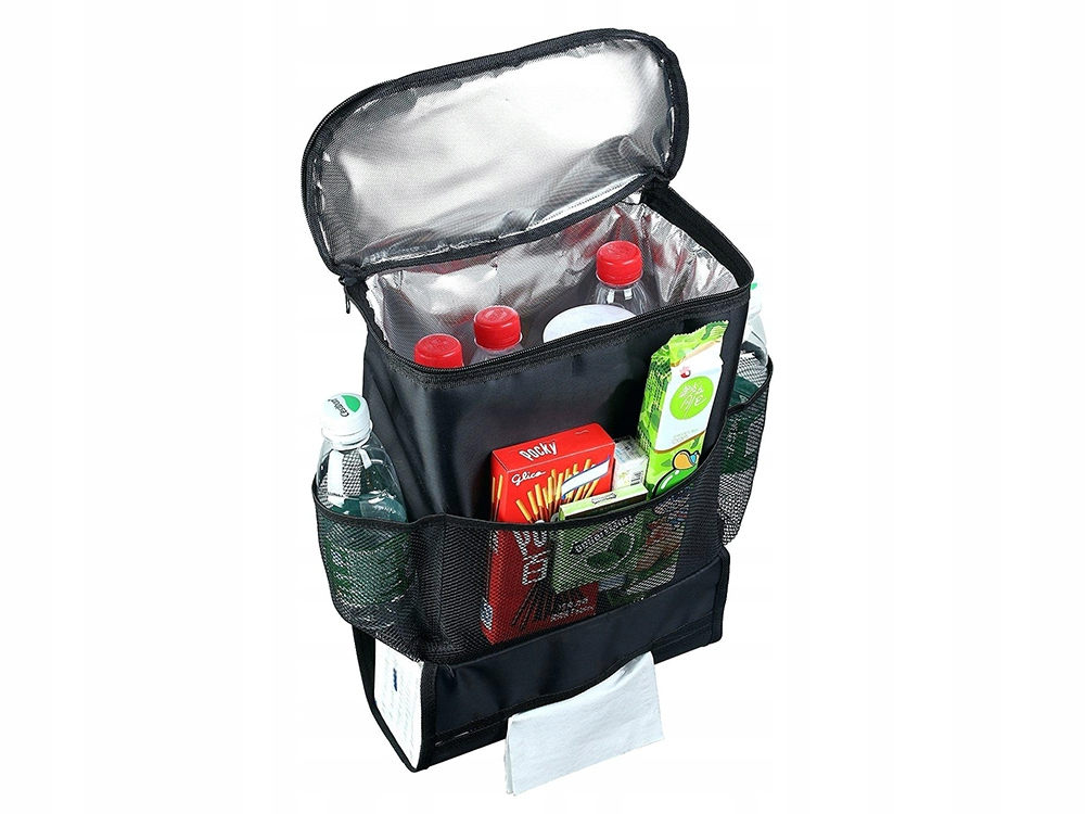 Item ORGANISER FOR CAR SEAT WITH HEAT BAG