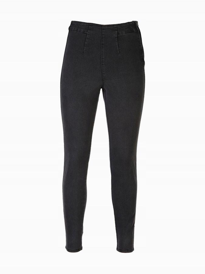Reserved Spodnie damskie jeansy wysoki stan r. 34