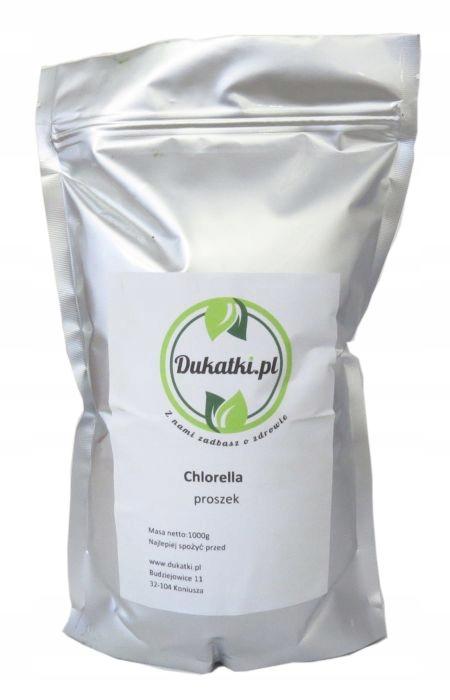 Chlorella, proszek ALGI MORSKIE NATURALNE 500g