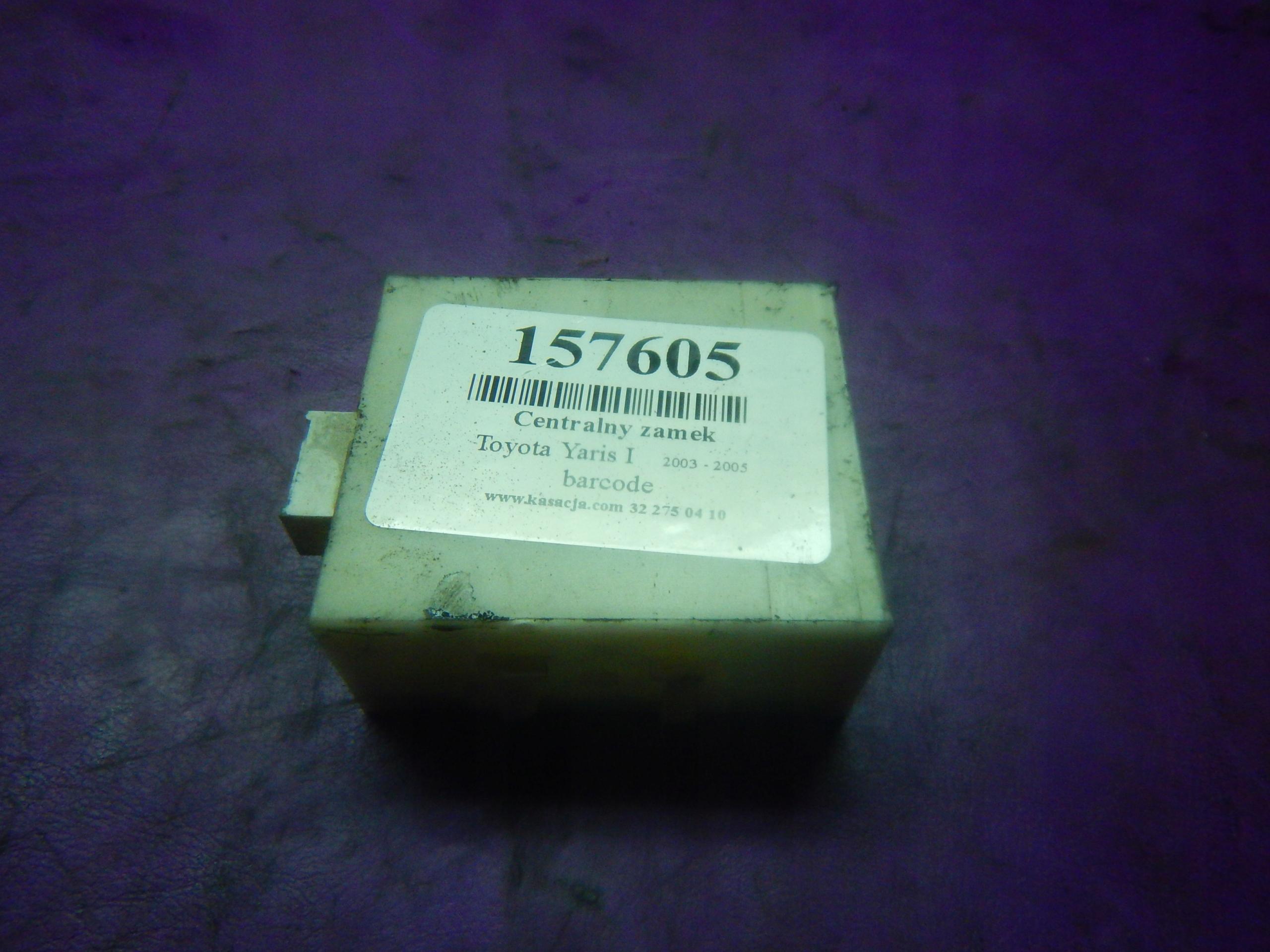 yaris i 03- lift модуль центральный замок 897410d020