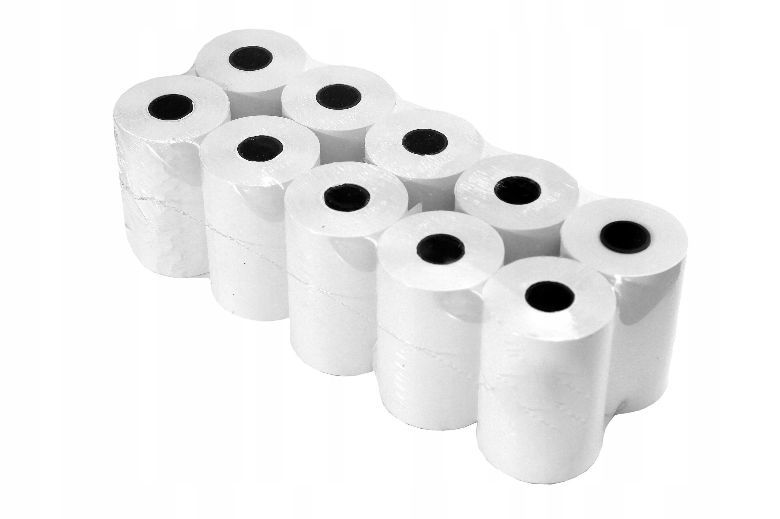 Бумага, рулоны для кассового аппарата ELZAB K10 - 10 шт.