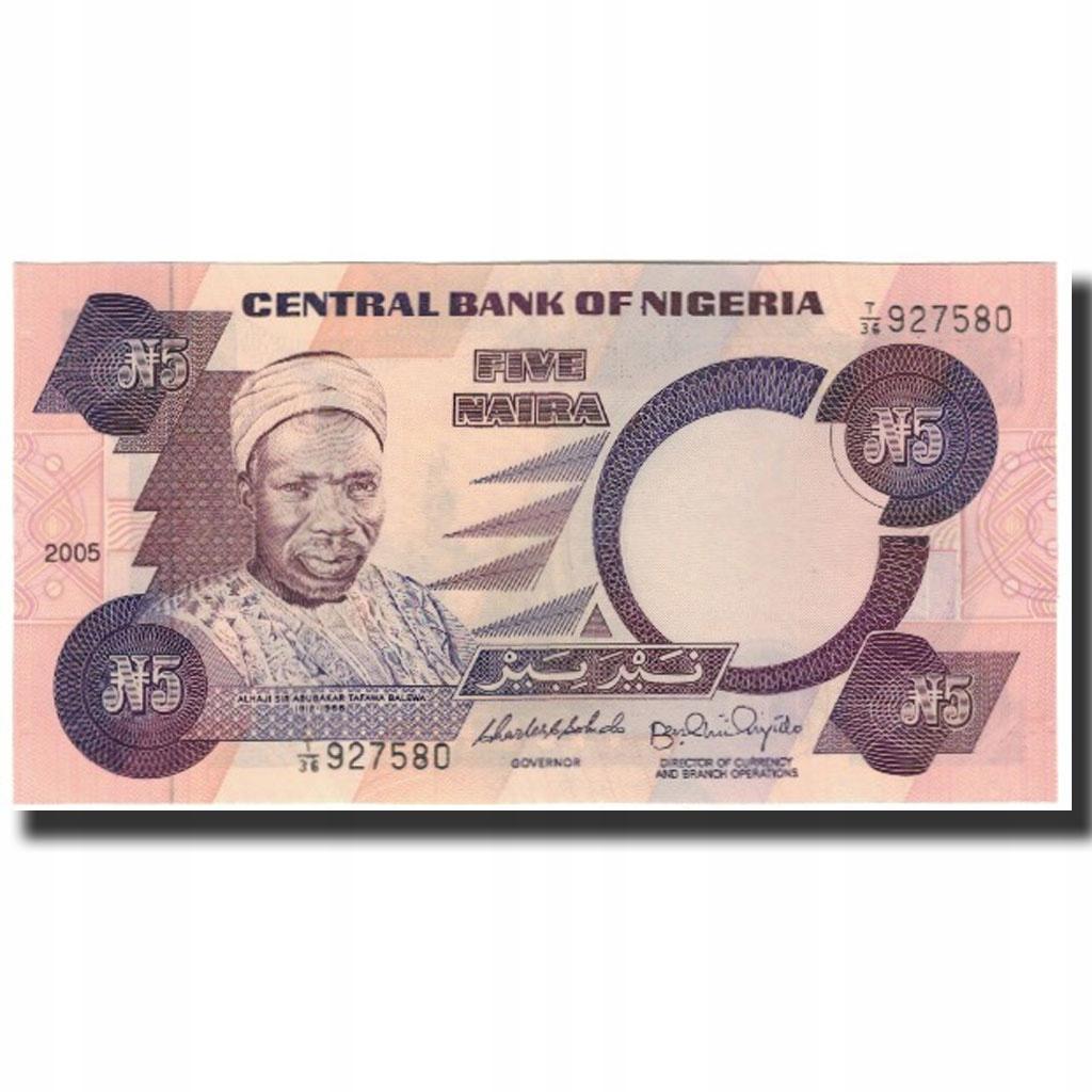 Банкнота, Нигерия, 5 Найра, без даты 2005 г., KM: 24j, U