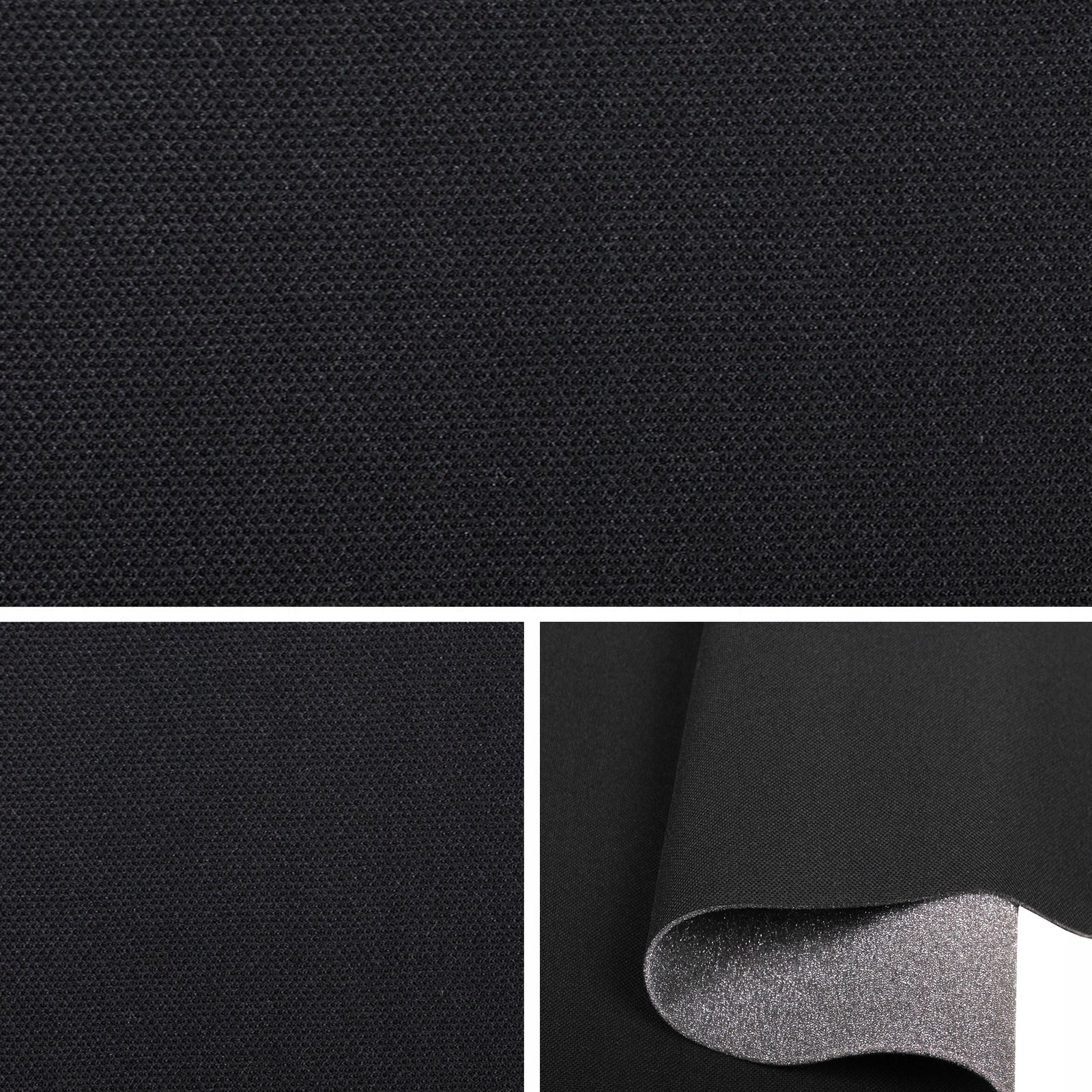 sam257 ткань автомобильная потолок черная