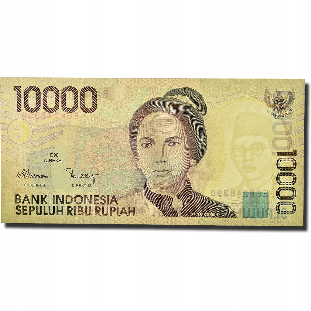 Банкнота, Индонезия, 10 000 рупий, 1998 г., КМ: 137a,