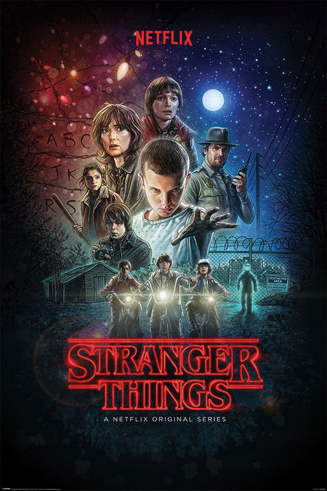 Item Stranger Things - a poster from the TV series 61x91,5 cm