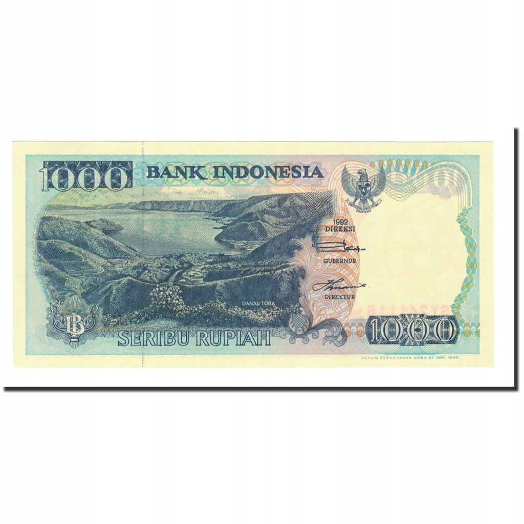 Банкнота, Индонезия, 1000 рупий, 1992-1996 гг., КМ: 129