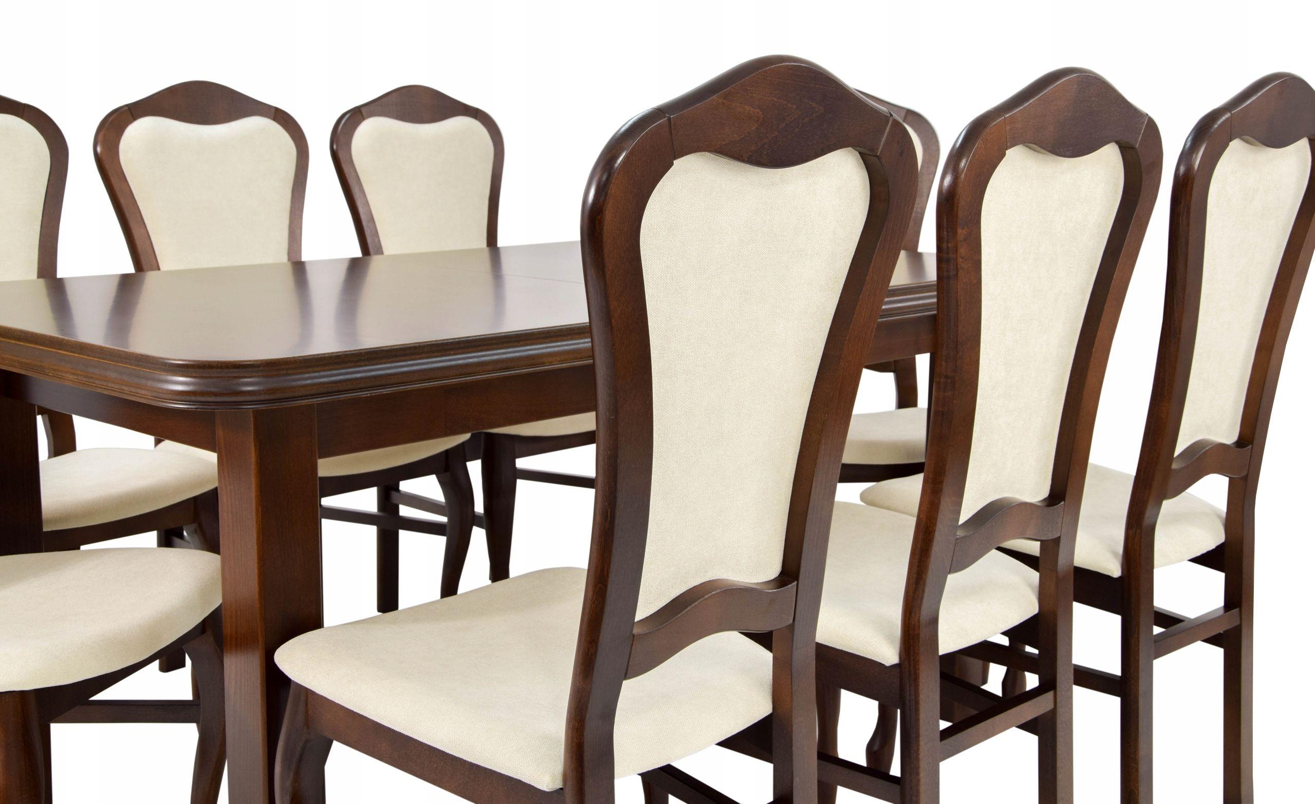8 stoličiek a skladací stôl 100x200/300 cm +DOPRAVA zadarmo
