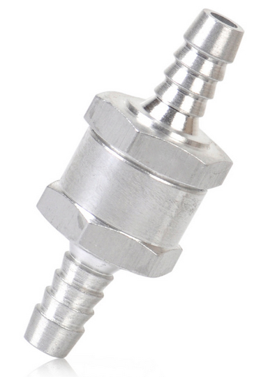 клапан обратный топлива 10mm металлический zaworek