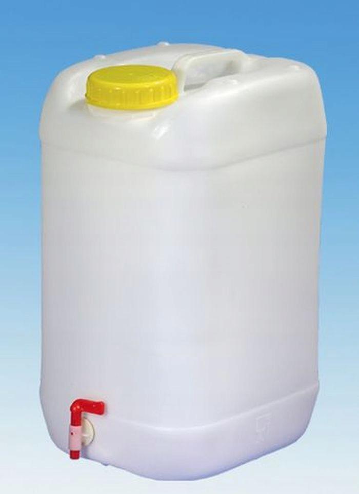 Nádrž na pitnú vodu s kohútik široký wlew96 25 L