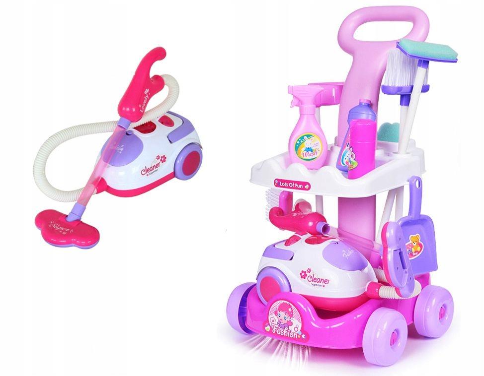 Detský vozík na čistenie hračiek Z09