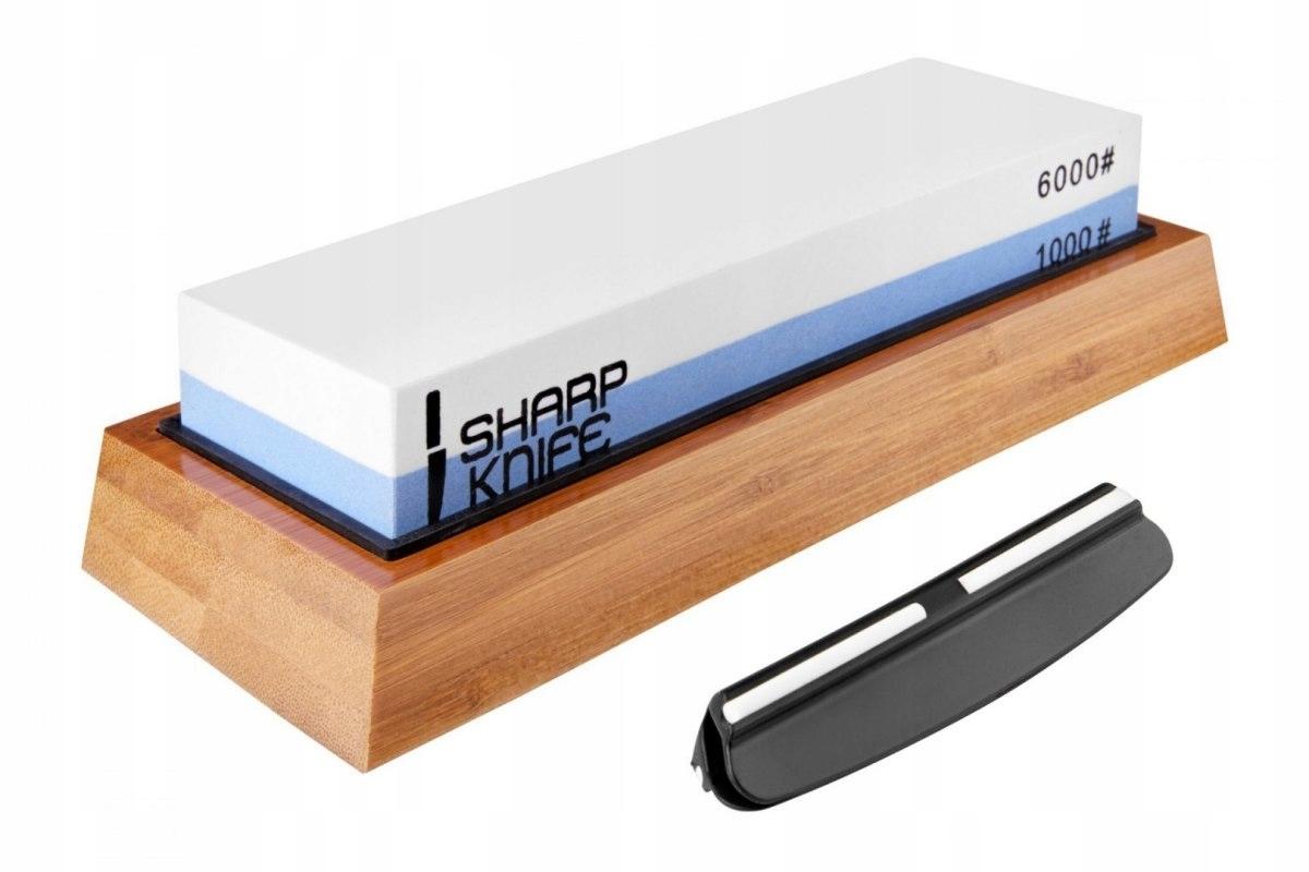 Stroj Ostrým Nožom vodný kameň 1000/6000+Zesta