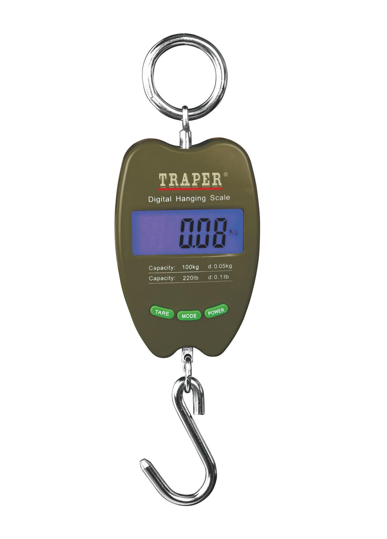 Elektronické rovnováhe s teplomer Hunter 100 kg