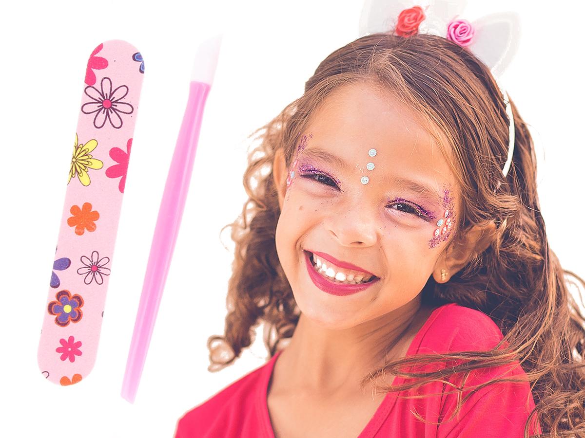 Zestaw Do Malowania Paznokci Dla Dzieci +Susz Y167