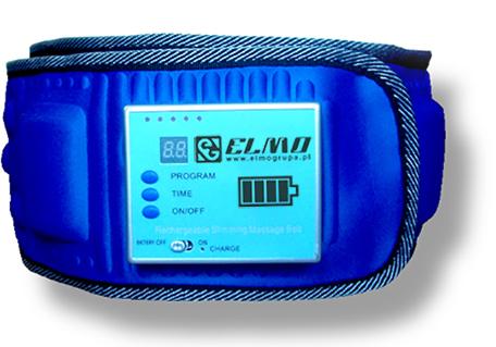 Chudnutie vibračný pás s vstavanej batérie.