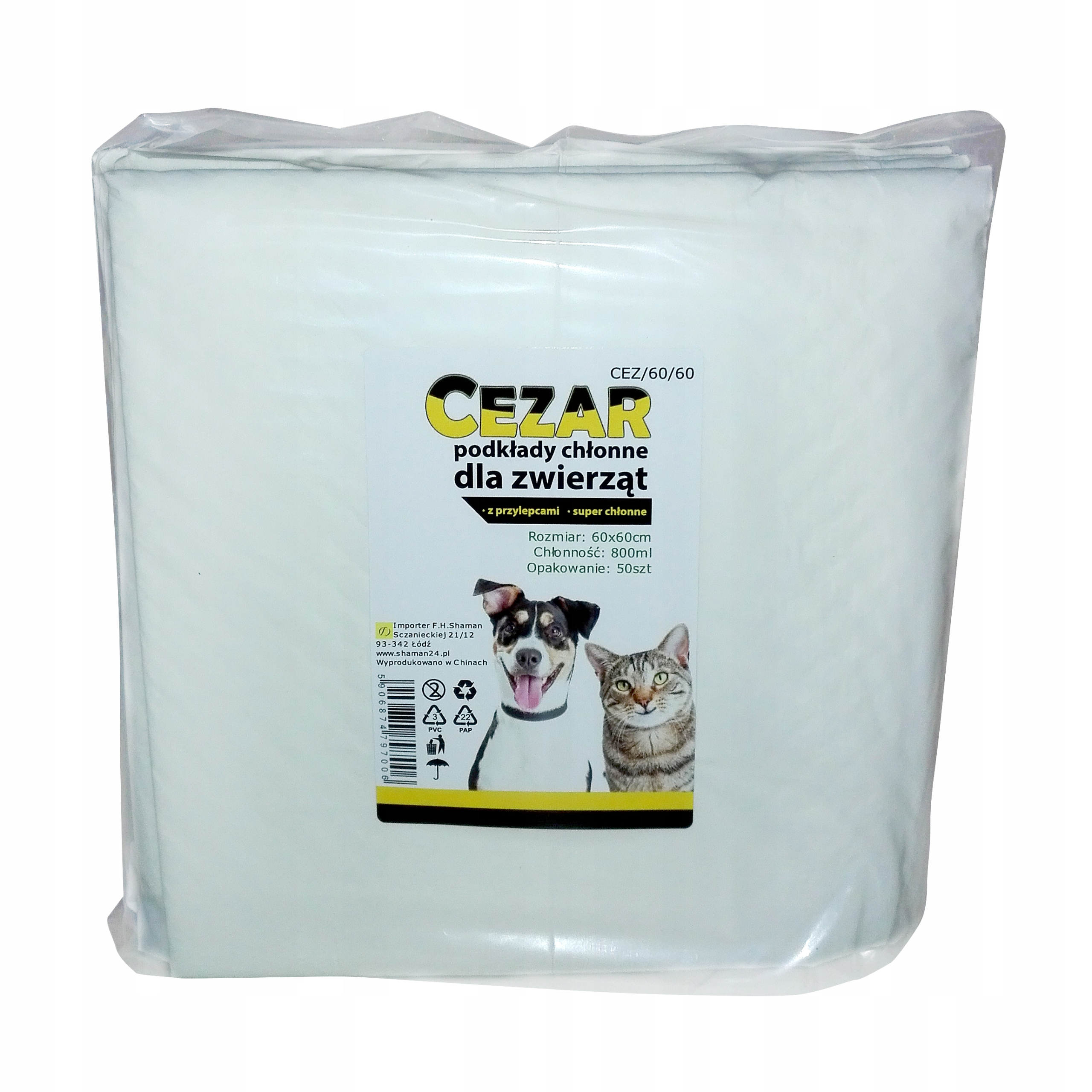 Caesar Sikania Science Mats for Puppies 60x60 50