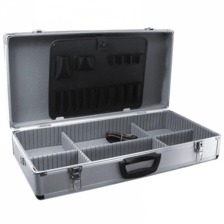 Item SUITCASE ALUMINUM 64/32/15CM.DEDRA N0007.HIT