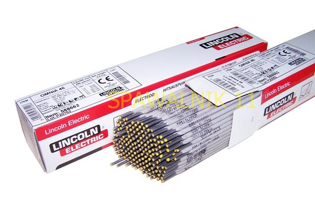 Zváracie elektródy fi 2,5 OMNIA 46 pre zvárací stroj