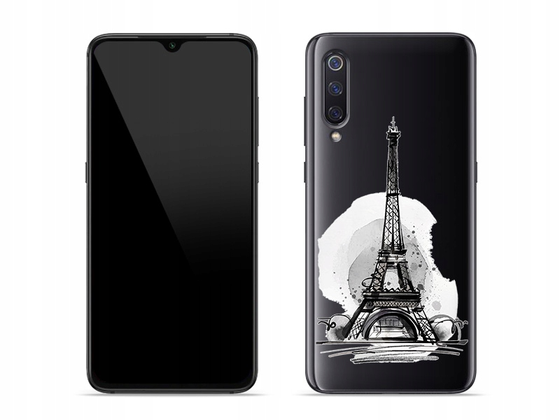 Xiaomi Mi 9 - stylowe etui serii Crystal Design