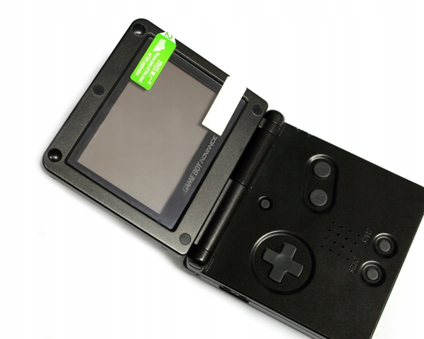 Item The film on the screen console GBA SP protection from scratches