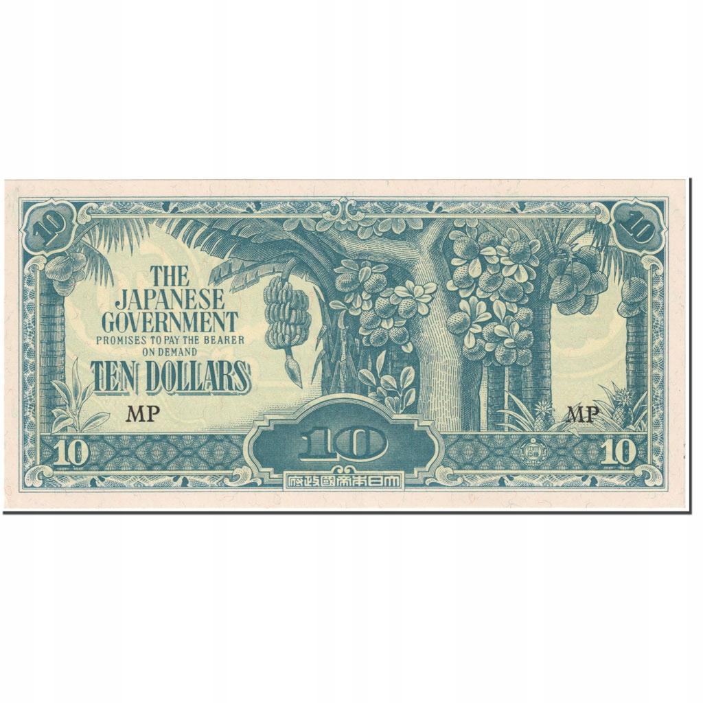 Банкнота, МАЛАЯ, 10 долларов, 1944, без даты (1944)