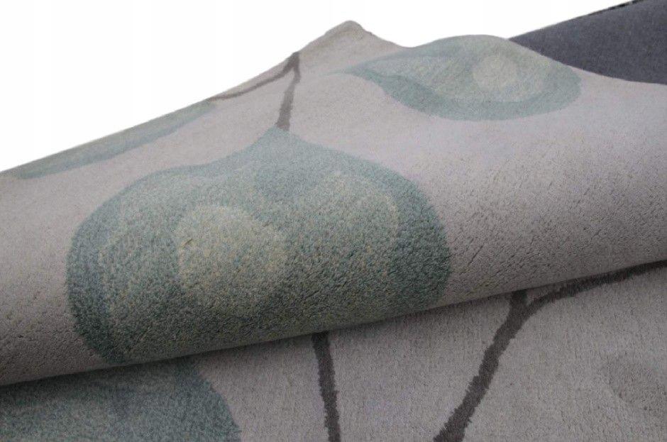 Nowoczesny 100% wełniany dywan indyjski 240x300cm