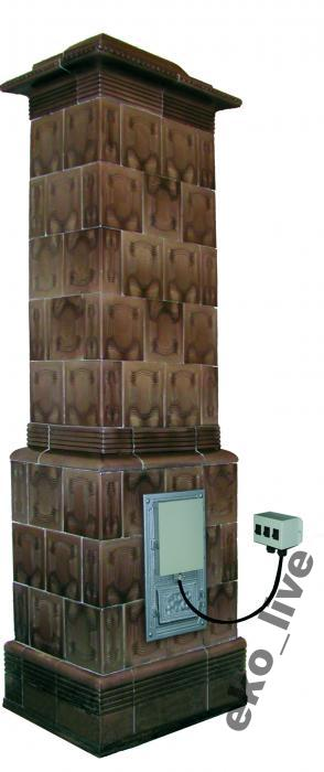 kartuša, akumulačná pec vykurovacej jednotky 4,0 kw