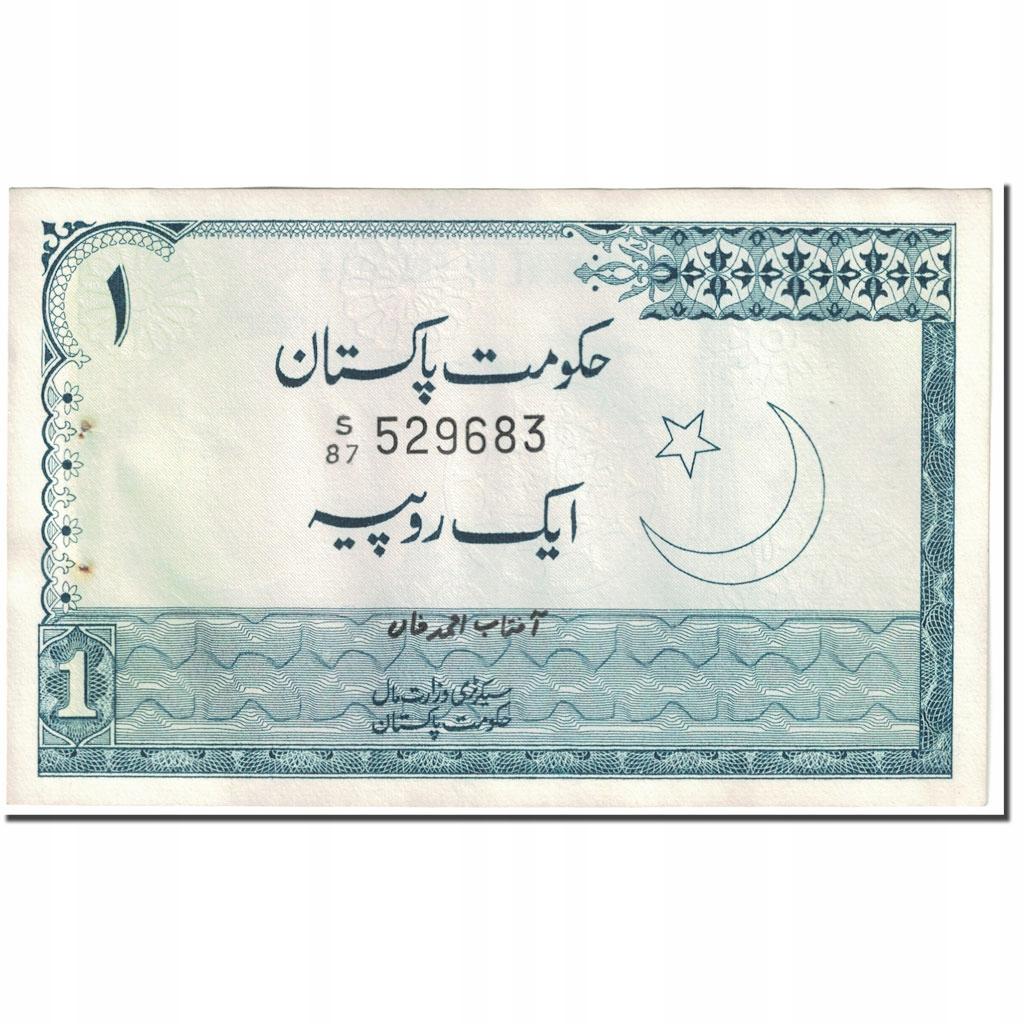 Банкнота, Пакистан, 1 рупия, 1975-1981 гг., Без даты (1