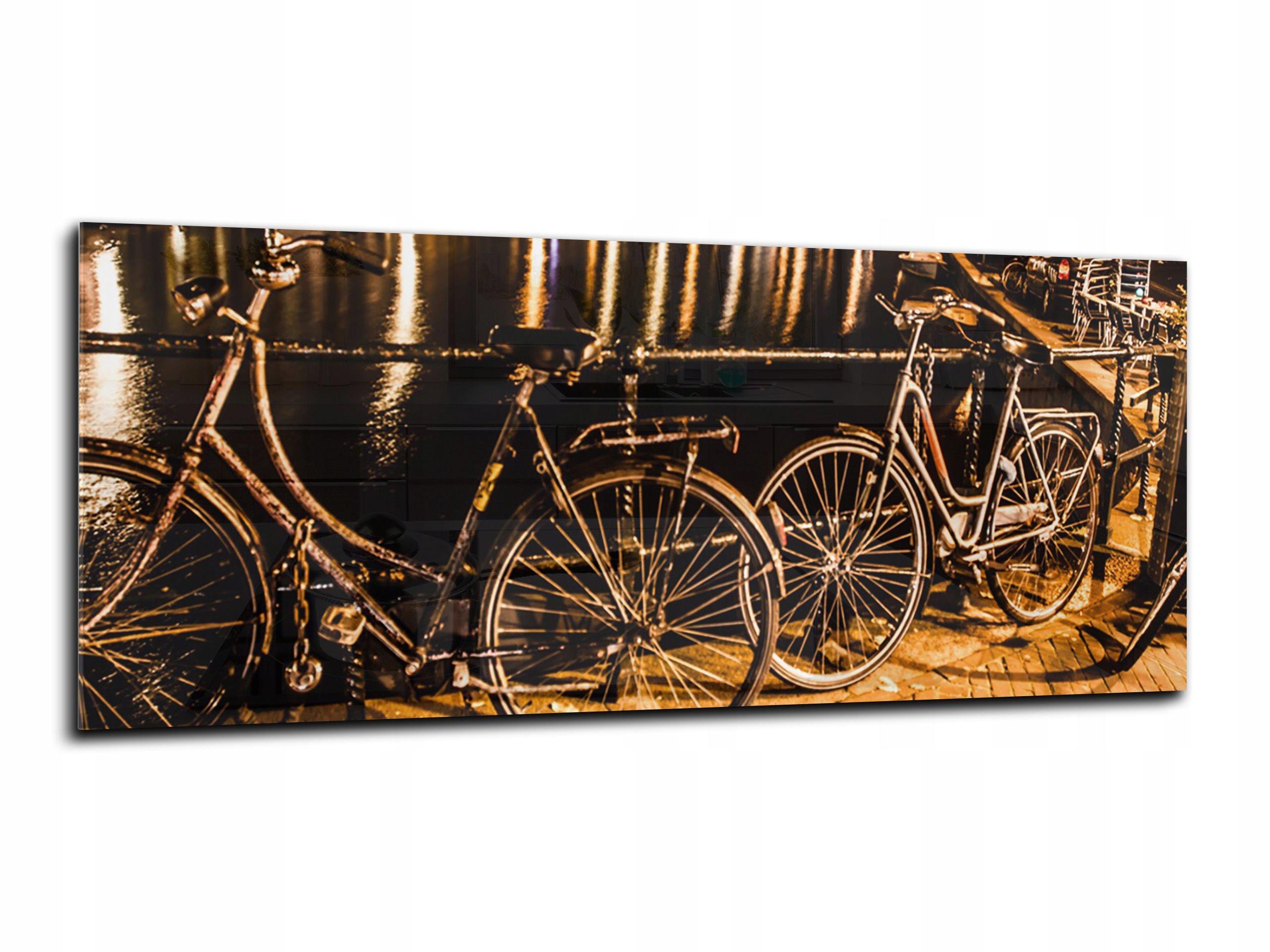 grafika s tvrdeného skla HD 150x60 bicykli