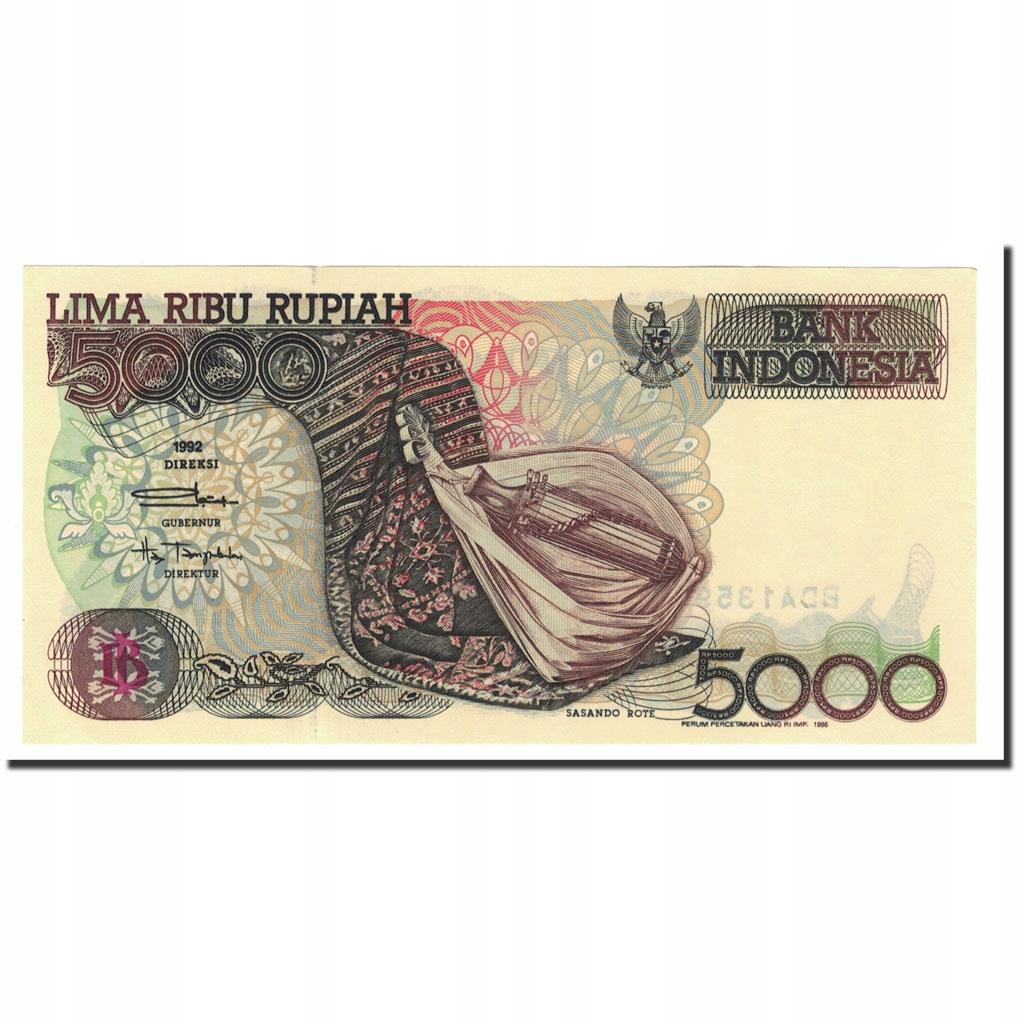 Банкнота, Индонезия, 5000 рупий, 1992-2001, 1992,