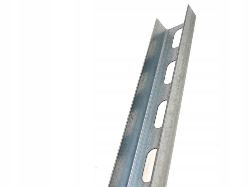 40x20x1,5x2000mm Ceownik perforowany ocynk