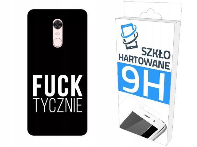 200wzorów Etui+szkło do Xiaomi Redmi 5 Plus Case