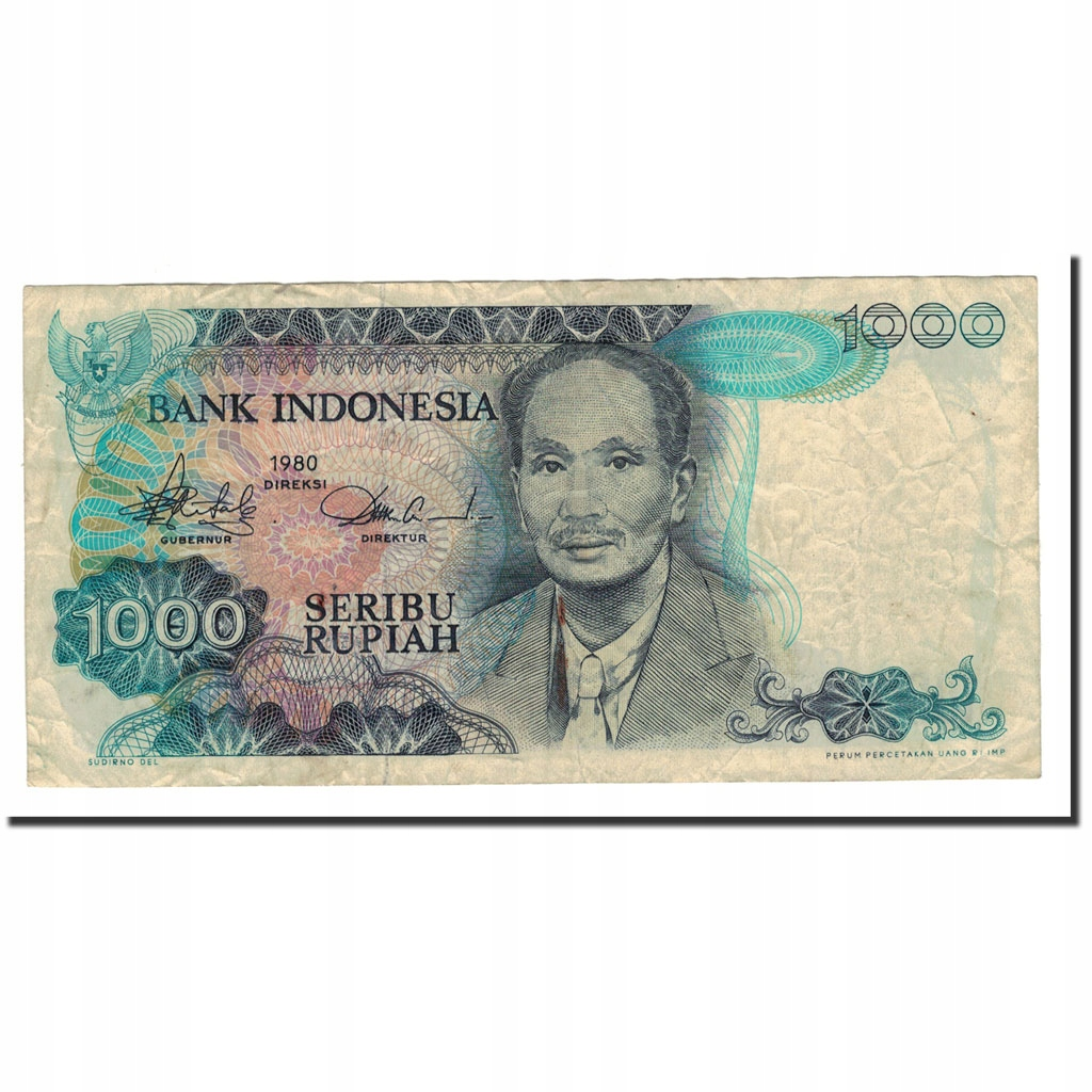 Банкнота, Индонезия, 1000 рупий, 1980, КМ: 119, VF (