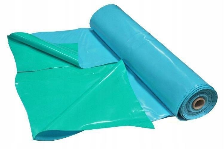 Толстая пленка для водоемов пруды 6x9m синий-зеленый