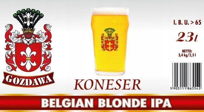 GOZDAWA ZNALEC BELGICKÉHO BLONDÍNA IPA 23L 3,4 kg pivo