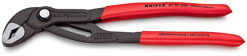 KNIPEX 87 01250 ORIGINAL COBRA PIPE Плоскогубцы