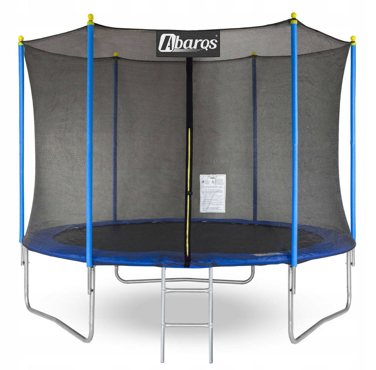 Item The terrace trampoline with net and ladder 255cm/8ft