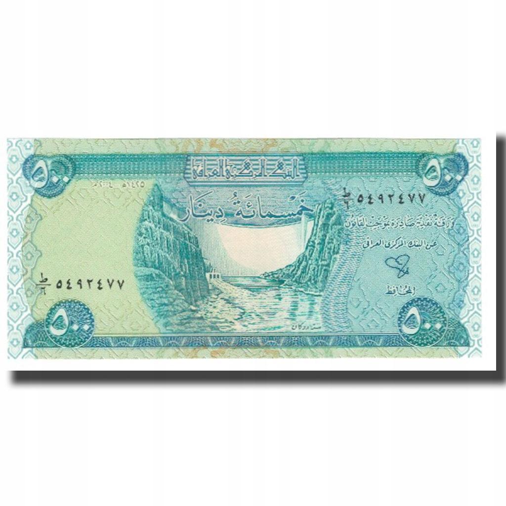 Банкнота, Ирак, 500 динаров, KM: 92, UNC (65-70)