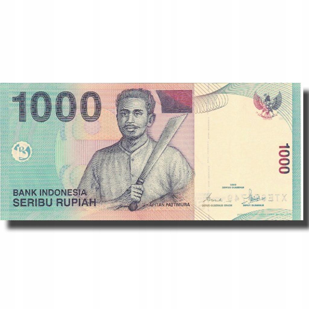 Банкнота, Индонезия, 1000 рупий, 2000, 2000, КМ: 1