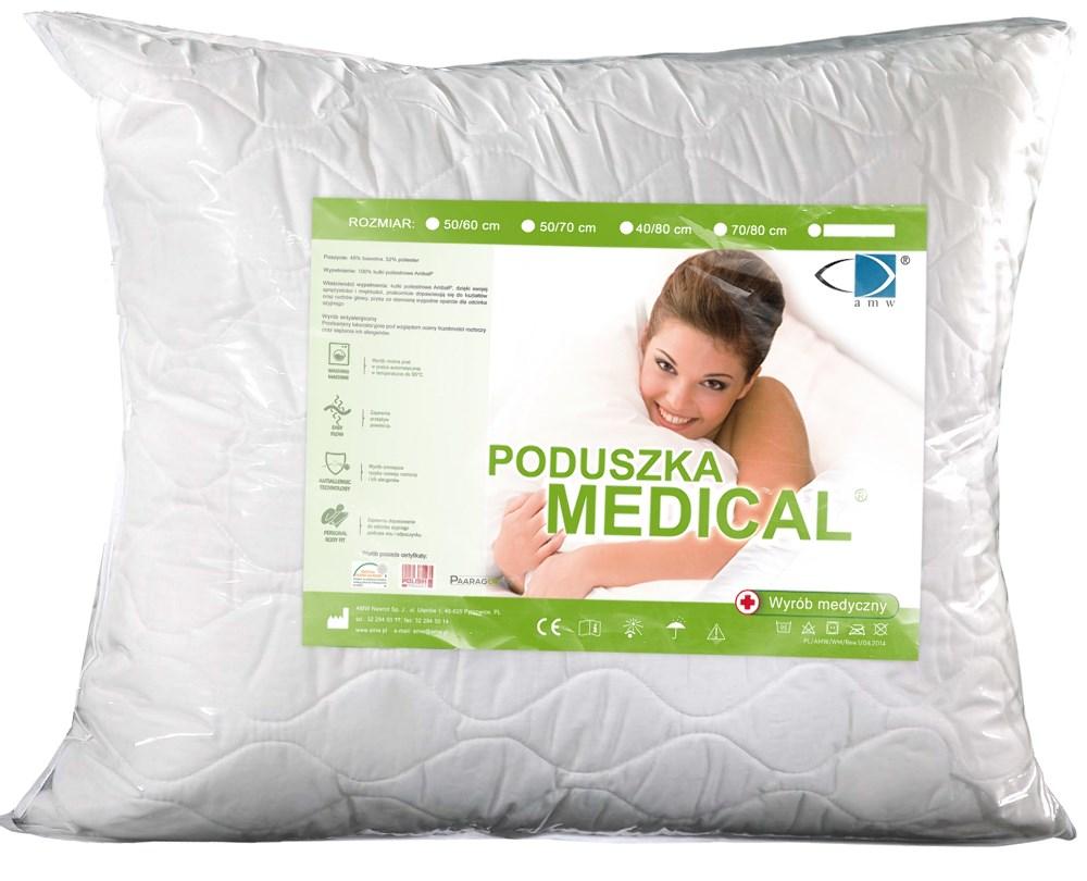 Poduszka Antyalergiczna 50x70 Medicare z zamkiem | sklep