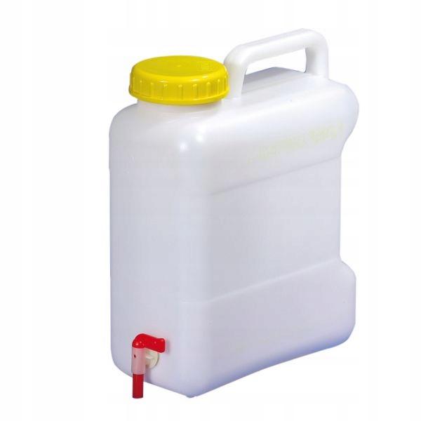 Kontajner Kanister, Nádrž na vodu s ťuknite na 10 L