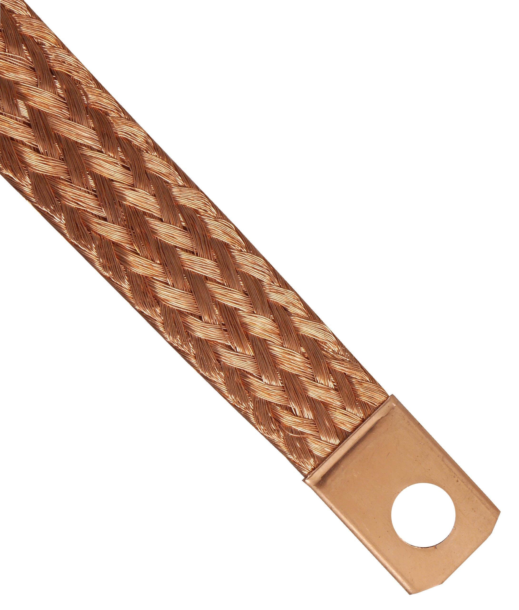 плетенка кабель кабель массы массовый 20cm медный
